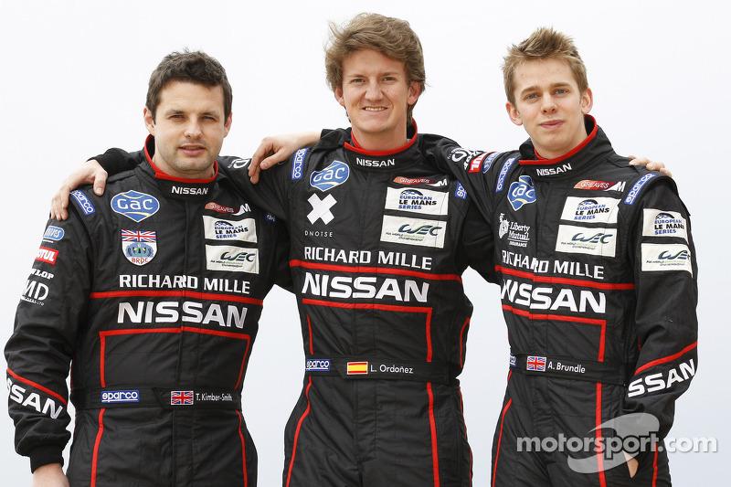 Tom Kimber-Smith, Lucas Ordonez and Alex Brundle