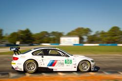 #56 BMW Team RLL BMW M3 GT: Joey Hand, Dirk Muller, Jonathan Summerton