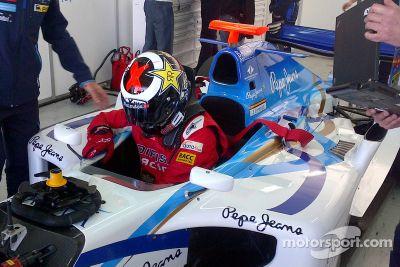 Jorge Lorenzo testet ein GP2-Auto