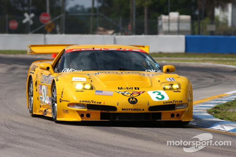Corvettes racing through history