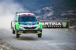 Бенито Герра и Борха Росада, Škoda Fabia R5