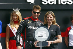 Will Power, Team Penske Chevrolet reçoit le Verizon P1 Pole Award