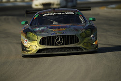 №75 SunEnergy1 Racing Mercedes AMG GT3: Борис Саид, Тристан Вотье, Кенни Хабуль