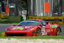 #21 Ferrari 458 GT3: Hector Lester, Benny Simonsen