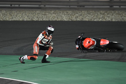Crash, Saeed Al Sulaiti, QMMF Racing