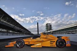 Essais de Fernando Alonso à Indianapolis