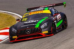 #222 Mercedes AMG GT3: Scott Taylor