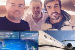 Fernando Alonso, in volo verso Indianapolis