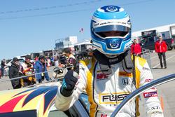 Third place Karl Wittmer, Honda Ste-Rose Racing
