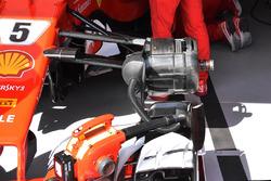 Ferrari SF70-H front brake detail
