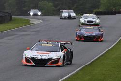 #43 RealTime Racing, Acura NSX GT3: Ryan Eversley, Tom Dyer; #93 RealTime Racing, Acura NSX GT3: Peter Kox, Mark Wilkins