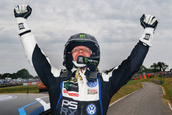 Il vincitore Petter Solberg, PSRX Volkswagen Sweden VW Polo Gti