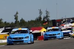 Thed Björk, Polestar Cyan Racing, Volvo S60 Polestar TC1, Nestor Girolami, Polestar Cyan Racing, Volvo S60 Polestar TC1