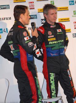 MG KX Momentum Racing Drivers Andy Neate and Jason Plato