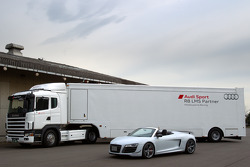The new Audi R8 GT Spyder