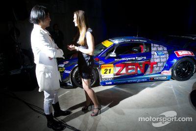 Présentation de l'Audi R8 GT Spyder à Tokyo