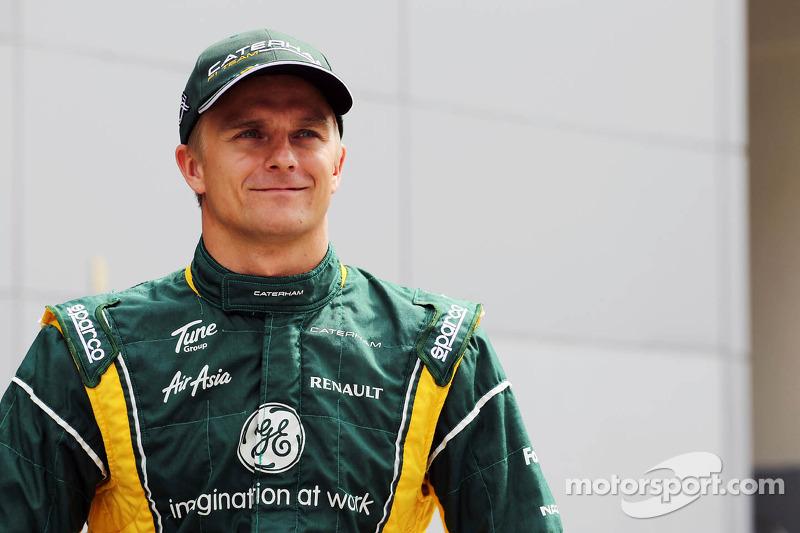 Heikki Kovalainen, Caterham teamfoto