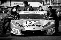 #18 Weider Honda Racing Honda HSV-010 GT