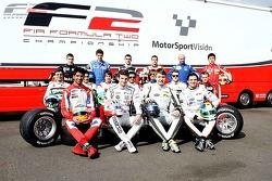 2012 Drivers photoshoot