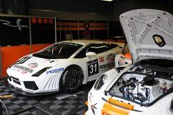 #31 Ruffier Racing Lamborghini Gallardo LP520+: Romain Brandela, Fabien Thuner, Georges Cabennes