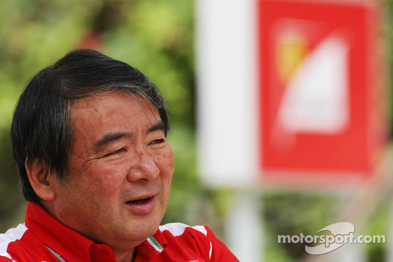 Hirohide Hamashima, Ferrari bandeningenieur
