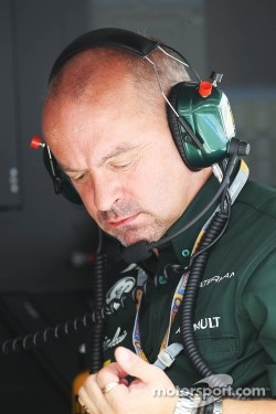 Mike Gascoyne, Caterham Group Chief Technical Officer