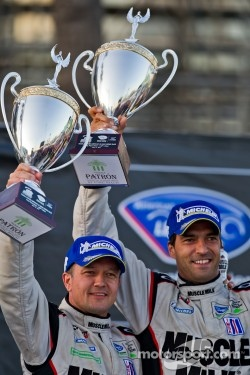 Podium: race winners Klaus Graf and Lucas Luhr