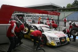 Pitstop Timo Scheider, Audi Sport Team ABT Sportsline Audi A5 DTM