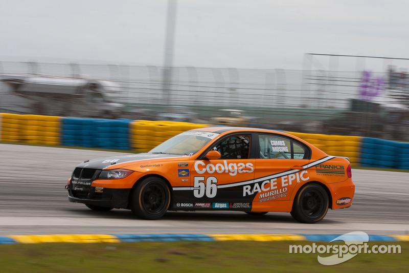 #56 RACE EPIC/Murillo Racing BMW 330: Jesse Combs, Jeff Mosing