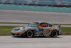 #08 Rebel Rock Racing Porsche 997: Jim Jonsin