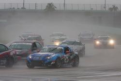 #04 CJ Wilson Racing Mazda MX-5: Bruce Ledoux, Marc Miller