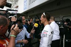 Michael Schumacher, Mercedes Grand Prix