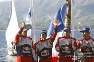 Second place Mikko Hirvonen and Jarmo Lehtinen, Citroën DS3 WRC, Citroën Total World Rally Team