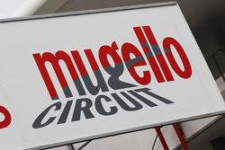 Mugello circuit sign
