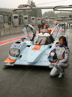 Keiko Ihara, #29 Gulf Racing Middle East Lola B12/80 Coupé-Nissan