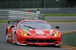 #58 Luxury Racing Ferrari 458 Italia: Pierre Ehret, Frank Montecalvo, Gunnar Jeannette
