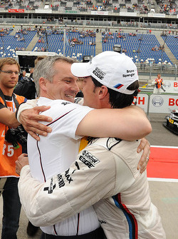 Jens Marquardt, BMW Motorsport Director and Bruno Spengler, BMW Team Schnitzer BMW M3 DTM
