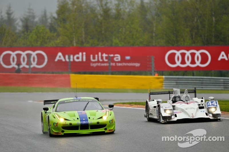 #57 Krohn Racing Ferrari 458 Italia: Tracy Krohn, Nic Jonsson Michele Rugol