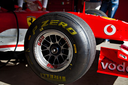 Pirelli P Zero on the F1 Clienti 2012