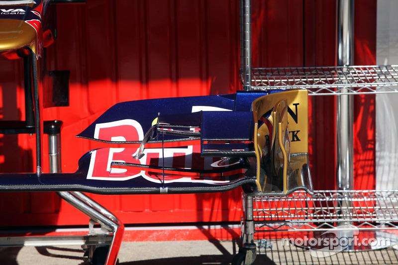 Scuderia Toro Rosso STR7 voorvleugel