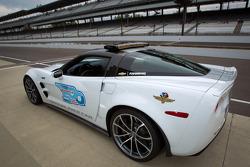 Chevrolet Corvette pacecar voor de 2012 Indy 500