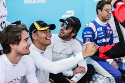Stéphane Sarrazin, TecheetahJ ean-Eric Vergne, Techeetah, Antonio Felix da Costa, Amlin Andretti Formula E Team
