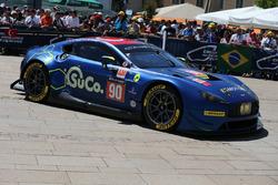#90 TF Sport Aston Martin Vantage GTE: Salih Yoluc, Euan Hankey, Rob Bell