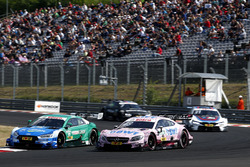 Loic Duval, Audi Sport Team Phoenix, Audi RS 5 DTM, Edoardo Mortara, Mercedes-AMG Team HWA, Mercedes-AMG C63 DTM