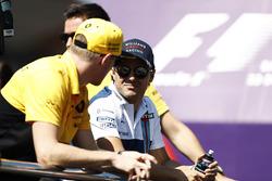 Felipe Massa, Williams y Nico Hulkenberg, Renault Sport
