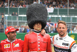 Marc Gene, Ferrari ve Jenson Button, McLaren, Palace Guard
