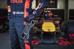 Sebastian Ogier en un F1