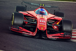 Designstudie: Formel 1 2025