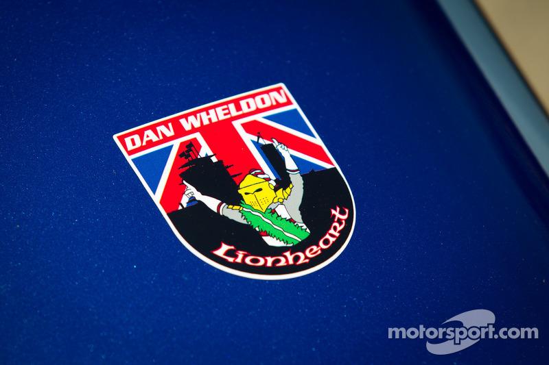 'In memory of Dan Wheldon', wagen van Alex Tagliani, Team Barracuda - BHA Lotus