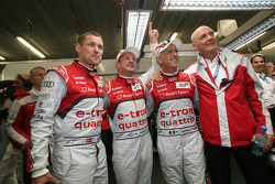 Allan McNish, Tom Kristensen, Rinaldo Capello